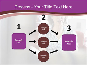 Young businesswoman PowerPoint Template - Slide 92