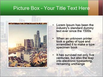 Singapore skyline PowerPoint Template - Slide 13