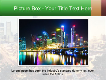 Singapore skyline PowerPoint Template - Slide 16