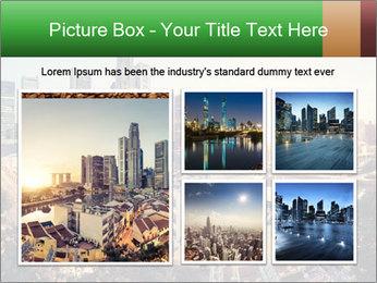 Singapore skyline PowerPoint Template - Slide 19