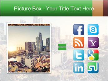 Singapore skyline PowerPoint Template - Slide 21