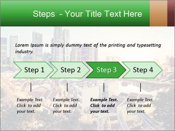 Singapore skyline PowerPoint Template - Slide 4