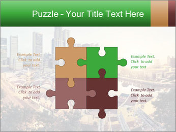 Singapore skyline PowerPoint Template - Slide 43
