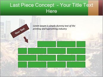 Singapore skyline PowerPoint Template - Slide 46