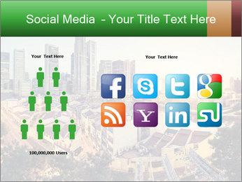 Singapore skyline PowerPoint Template - Slide 5