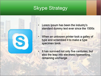 Singapore skyline PowerPoint Template - Slide 8