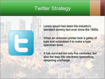 Singapore skyline PowerPoint Template - Slide 9