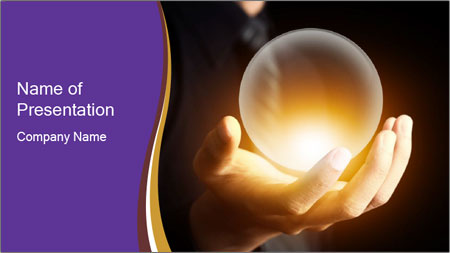 Crystal Ball PowerPoint Template