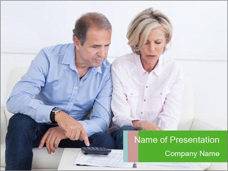 Mature couple PowerPoint Templates