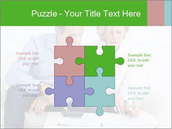 Mature couple PowerPoint Templates - Slide 43