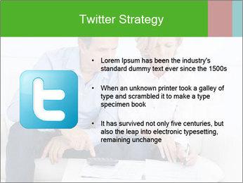 Mature couple PowerPoint Templates - Slide 9