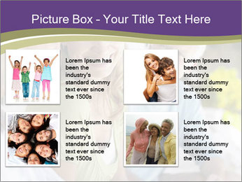 Two cheerful middle aged women PowerPoint Template - Slide 14