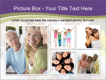 Two cheerful middle aged women PowerPoint Template - Slide 19