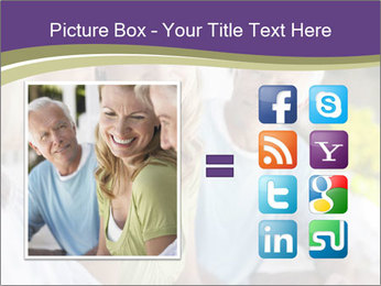 Two cheerful middle aged women PowerPoint Template - Slide 21