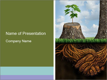 Business help and support concept PowerPoint Template - Slide 1