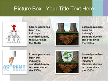 Business help and support concept PowerPoint Template - Slide 14