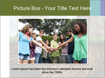 Business help and support concept PowerPoint Template - Slide 16