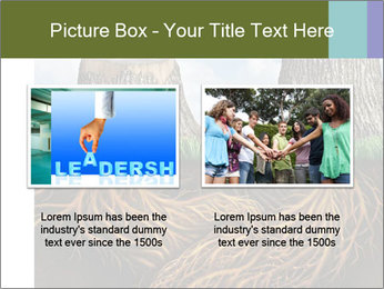 Business help and support concept PowerPoint Template - Slide 18
