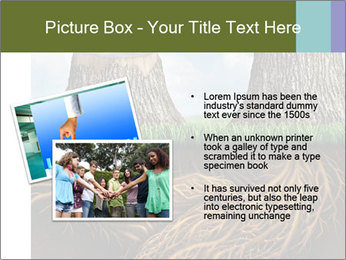Business help and support concept PowerPoint Template - Slide 20