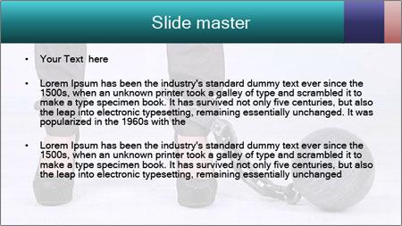 Business worker PowerPoint Template - Slide 2