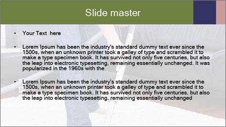 Cleaning vacuum PowerPoint Template - Slide 2