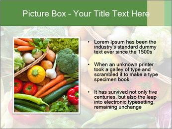 Vegetables PowerPoint Template - Slide 13