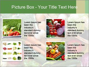 Vegetables PowerPoint Template - Slide 14
