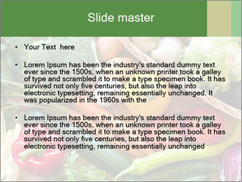 Vegetables PowerPoint Templates - Slide 2