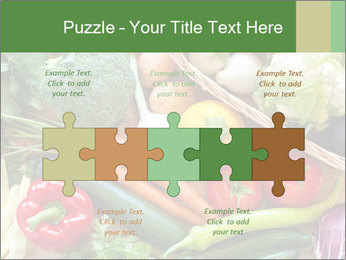 Vegetables PowerPoint Templates - Slide 41