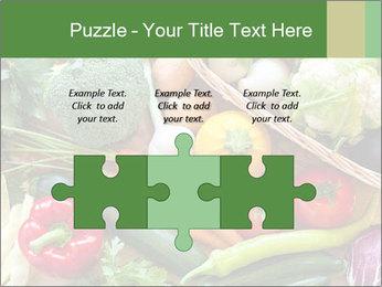 Vegetables PowerPoint Template - Slide 42