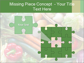 Vegetables PowerPoint Template - Slide 45