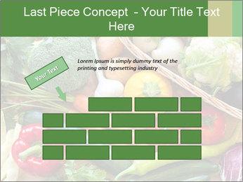 Vegetables PowerPoint Template - Slide 46