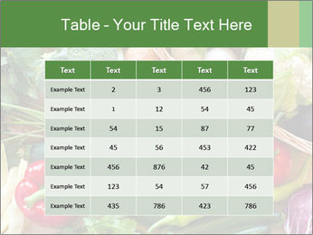 Vegetables PowerPoint Templates - Slide 55