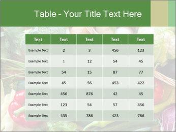 Vegetables PowerPoint Template - Slide 55