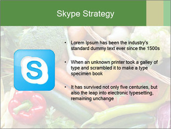 Vegetables PowerPoint Templates - Slide 8