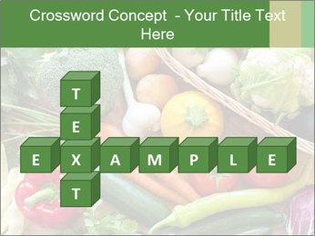 Vegetables PowerPoint Template - Slide 82