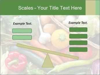 Vegetables PowerPoint Template - Slide 89