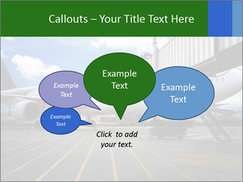 Air plane PowerPoint Templates - Slide 73