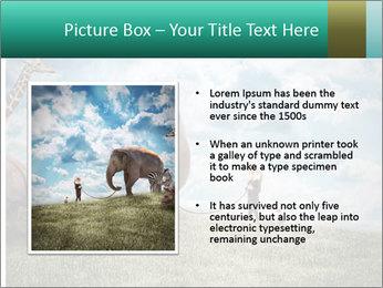 Big elephant PowerPoint Template - Slide 13