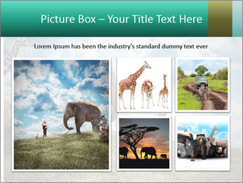 Big elephant PowerPoint Template - Slide 19