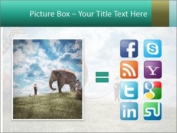 Big elephant PowerPoint Template - Slide 21