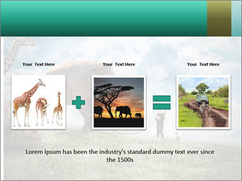 Big elephant PowerPoint Template - Slide 22