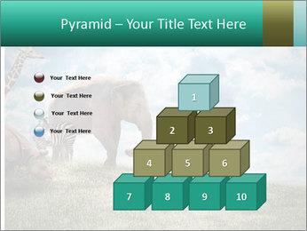 Big elephant PowerPoint Template - Slide 31