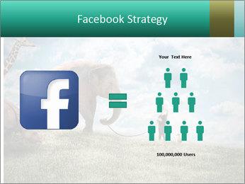 Big elephant PowerPoint Template - Slide 7