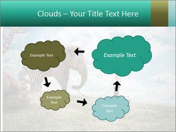 Big elephant PowerPoint Template - Slide 72