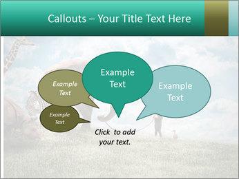 Big elephant PowerPoint Template - Slide 73