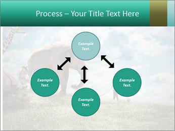 Big elephant PowerPoint Template - Slide 91