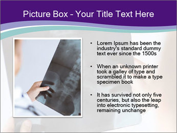 Doctor holding x-ray PowerPoint Templates - Slide 13