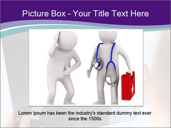 Doctor holding x-ray PowerPoint Templates - Slide 15