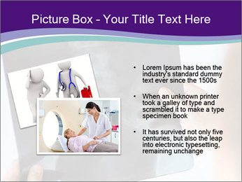 Doctor holding x-ray PowerPoint Templates - Slide 20